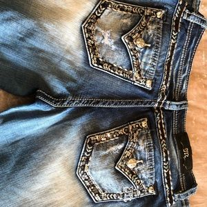 """Embellished Miss Me Bootcut Jeans Size 30"""" x 34"""""""